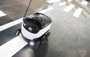 Starship Robot Aims to Reduce Delivery Costs