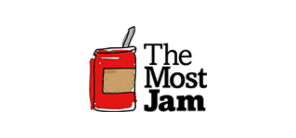 the most jam logo