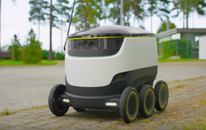 Delivery Robot and Self Propelled Shopping Trolleys