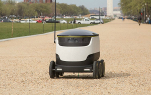 Don't Look Up: Robot Deliveries Will Roll, Not Fly Through Washington, DC