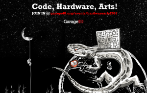 Garage48 Hardware & Arts 2017 hackathon is open for registration!