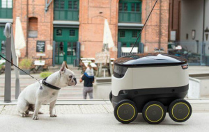 Hermes and Starship Technologies to Test Delivery Robots in London